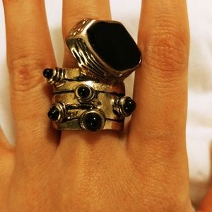 Urban Outfitters funky ring